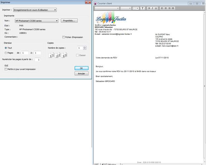 Aide logiciel de facturation devis factures devis page5 for Logiciel facturation garage